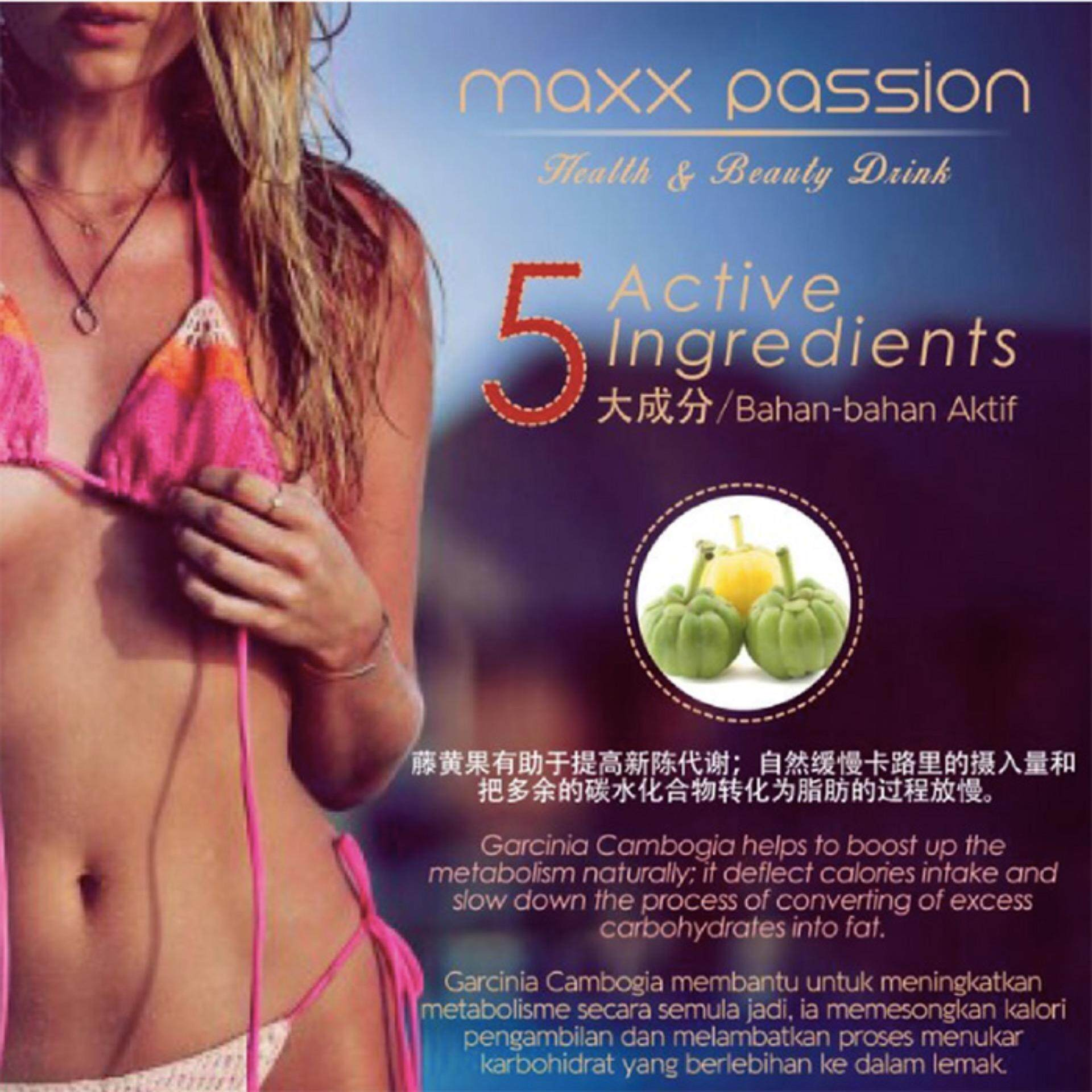 Maxx Passion Healthy and Beauty Drink – Buy 1 Box GET 3 Sachets of Phyto Clear