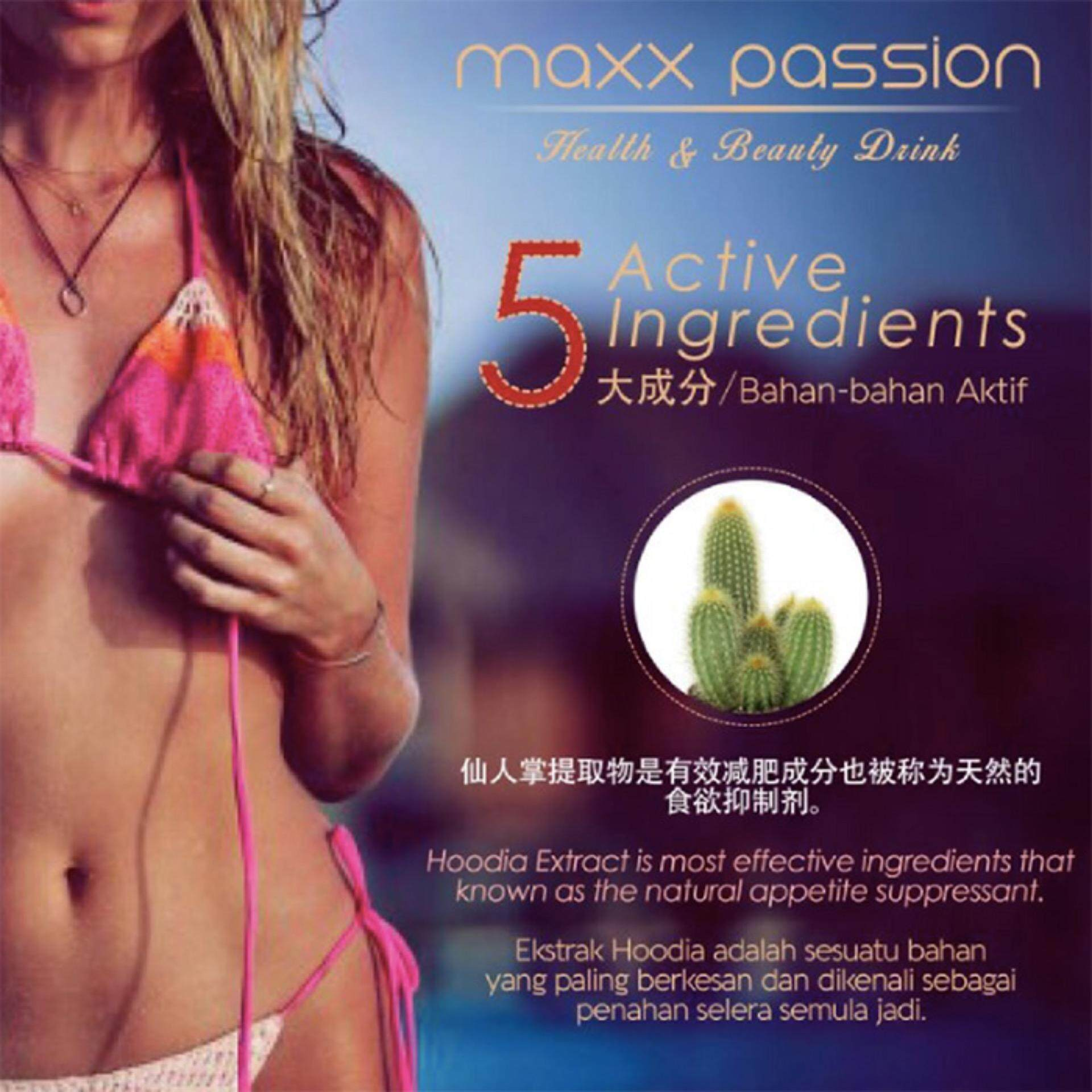 Maxx Passion Healthy and Beauty Drink – Buy 4 Boxes GET 2 Boxes