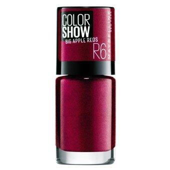 Harga Maybelline Color Show Nail Big Apple Nail Polish Red [Hot]