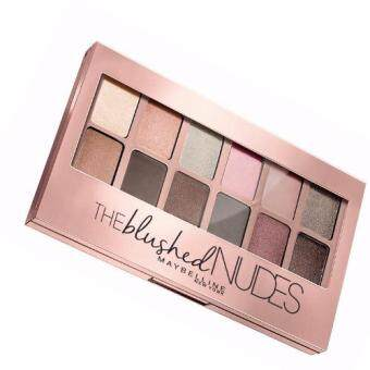Maybelline The Blushed Nudes Palette In Nude Eyeshadow