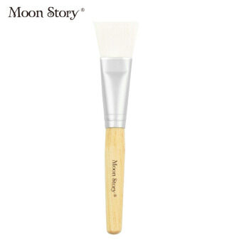 Meng Dai child DIY mask brush homemade mask sweep fiber soft mask soft bristle brush painted mask tool brush