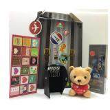 Men's Perfume Valentine's Gift Set With Bear & Perfume