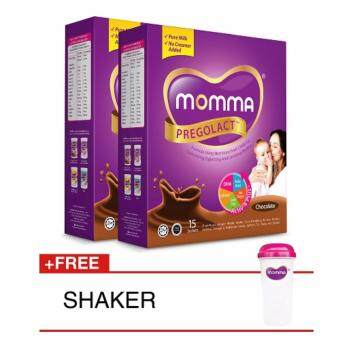 Harga Milk Booster MOMMA(R) Pregolact(R) Chocolate - Travel Pack (2 Unit)