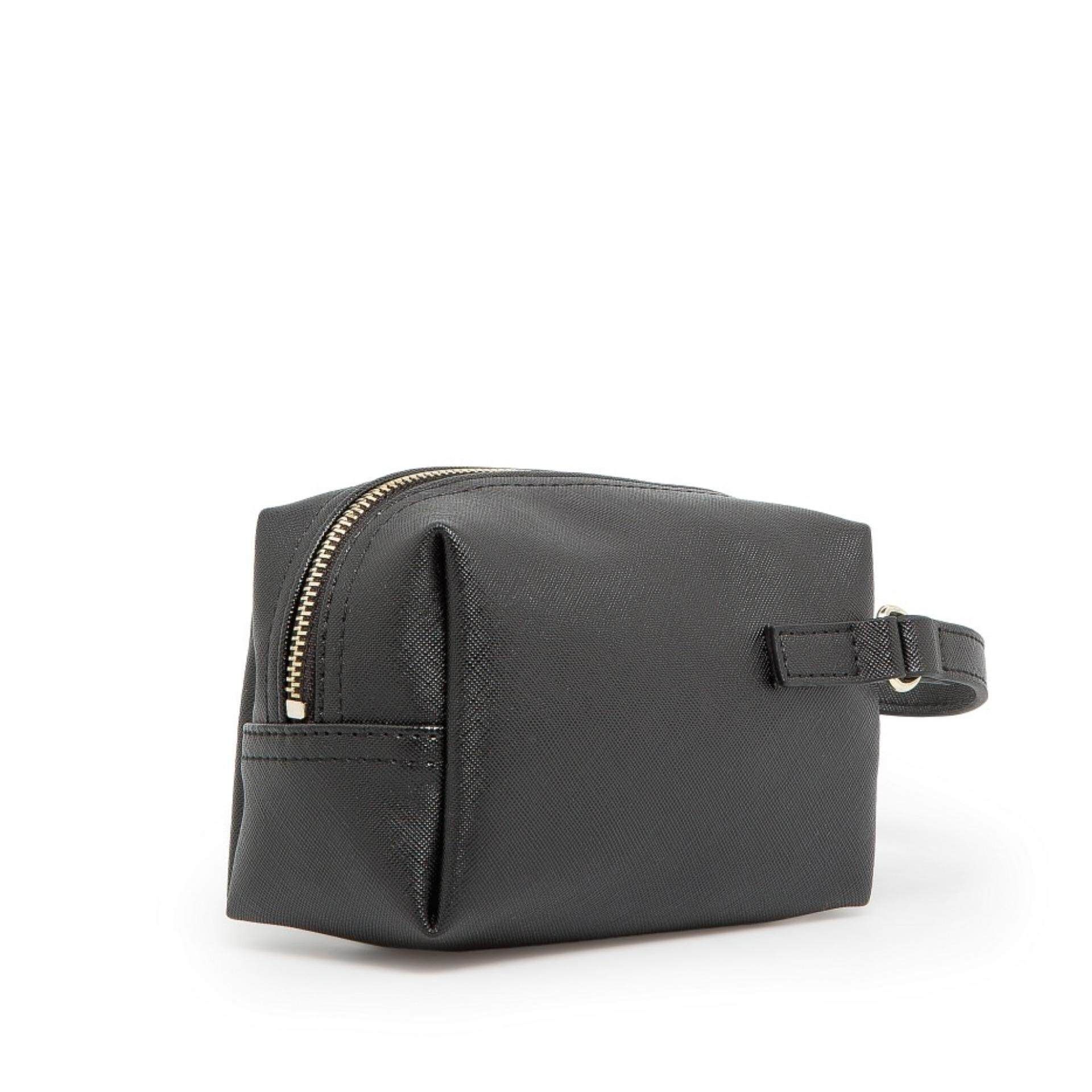 MNG Cosmetic Makeup Pouch / Small Bag / Mini Bag / Coin Purse (Black)
