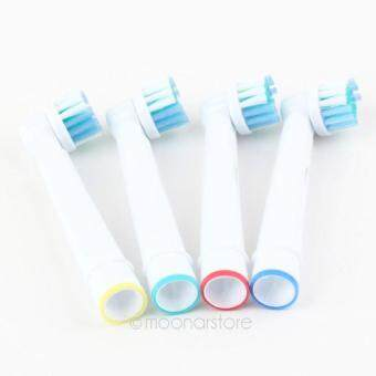 Moonar 4 Pcs Set Replacement Toothbrush Electric Brush Head For Oral B Vitality Precision Clean Braun
