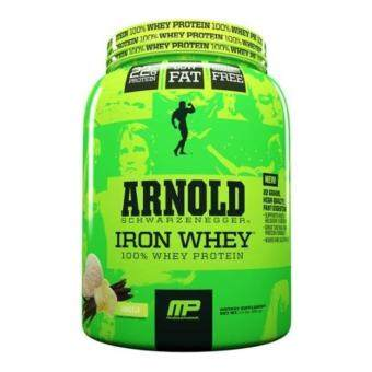 MusclePharm - Arnold Iron Whey - 1.5 lbs (680 grams) - Vanilla