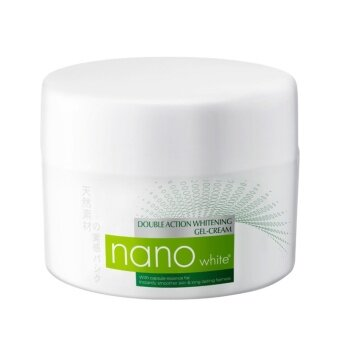 Harga NANO Double Action White Gel Cream 40ml