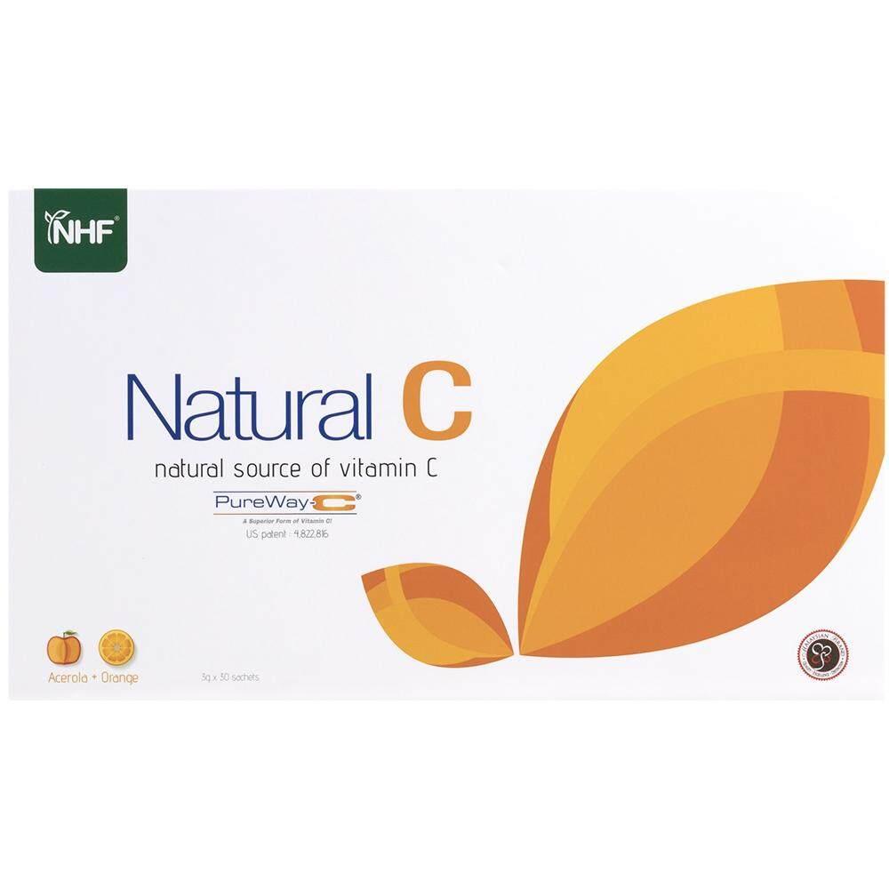 Natural Health Farm Natural C - Pureway C 最天然的维他命C来源 (3g x 30 sachets)