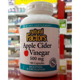 Natural Factors Apple Cider Vinegar Capsules 180's