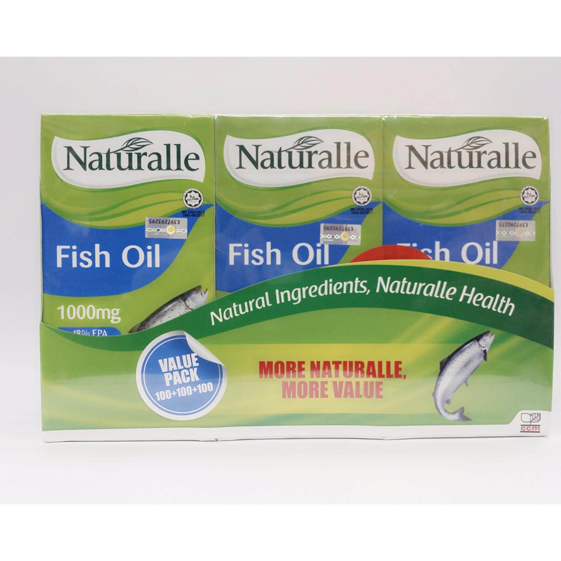 Naturalle Fish Oil 1000MG 3X100s (Protect Heart)