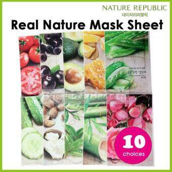 Harga Nature Republic Real Nature Mask Sheet 10 choices (Sent outrandomly)