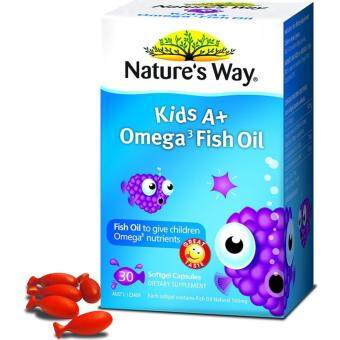 Nature's Way Kids A+ Omega 3 Fish Oil 30's