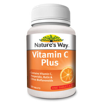 Nature's Way Vit C Plus 1000mg 50's