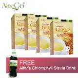 Newco Premium Ginger Honey Tea X 4 Boxes