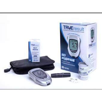 NIPRO LIFETIME WARRANTY BLOOD GLUCOSE MONITOR METER (50 TESTSTRIPS)