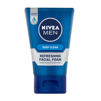 Harga NIVEA FOR MEN NFM Deep Clean Facial Foam 100ML