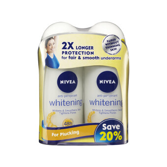 Harga NIVEA Nivea Visage Deodorant Whitening Roll On Twin Pack 2X50ML