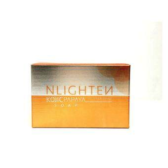 Harga Nlighten Kojic Papaya soap with Glutathione Soap 135g