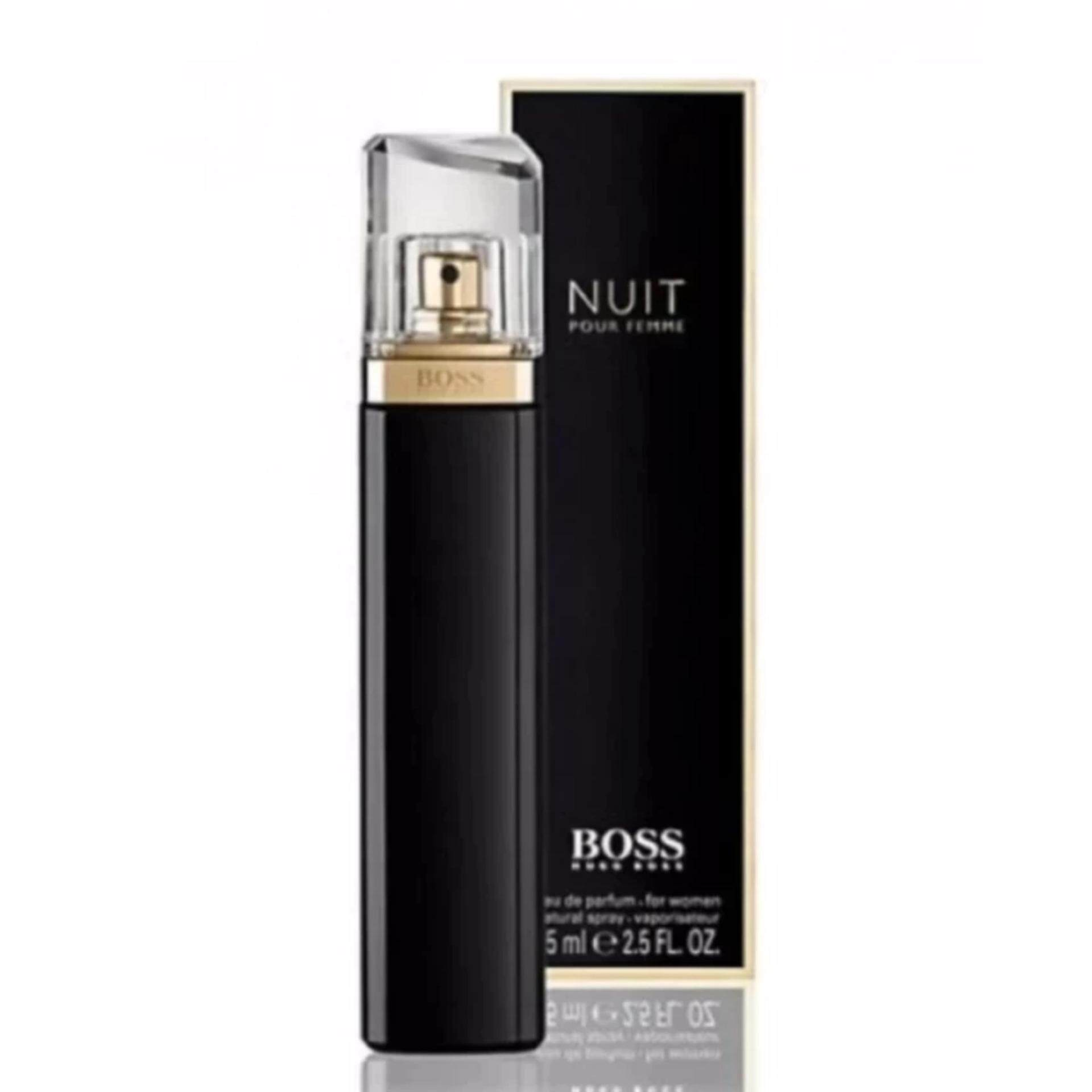 [Perfume King 5A]Nuit Pour Femme Intense by Hugo Boss for Women - EDP, 75ml