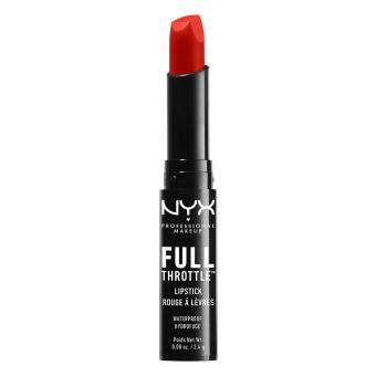 Harga NYX PROFESSIONAL MAKEUP Full Throttle Lipstick - Firestorm
