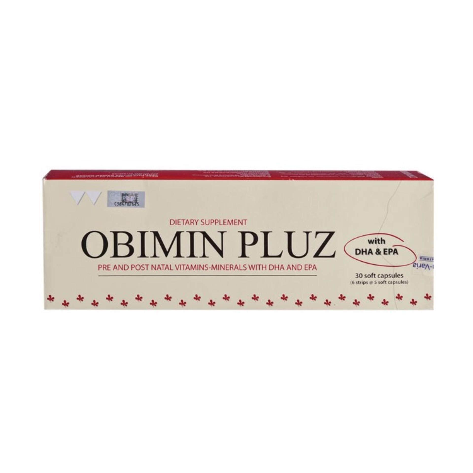 OBIMIN PLUZ 30S (FOR PREGNANCY & BREASTFEEDING)