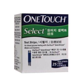 Harga One Touch Select Simple Strips 25s