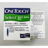 One Touch Select Simple Test Strips 25S