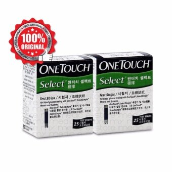 Harga ONE TOUCH SELECTSIMPLE TEST STRIPS 25's TWIN-PACK (GREEN)