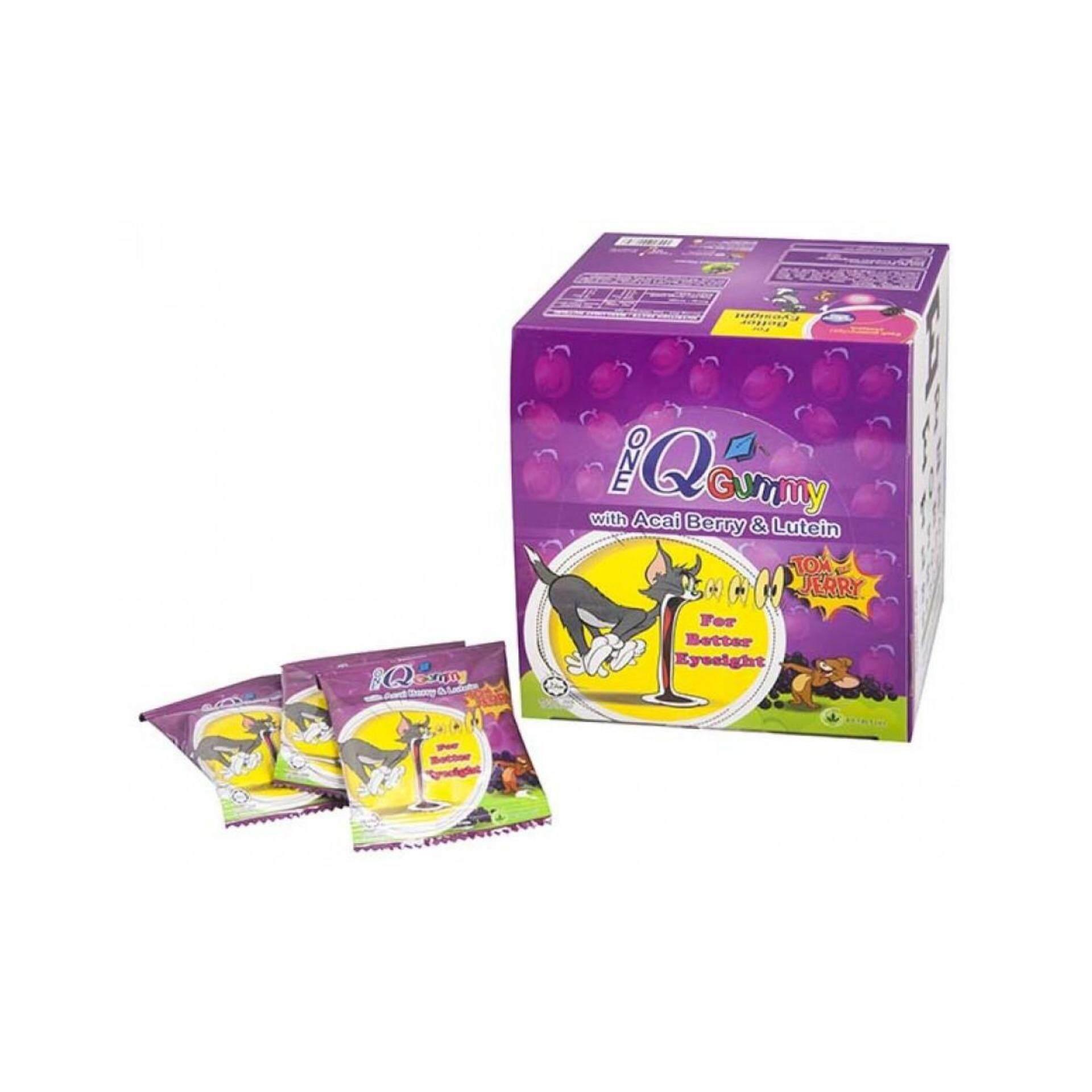OneQ Gummy Acai Berry & Lutein Kids Eye Vitamin 24packs