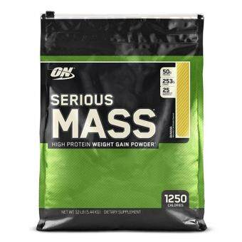 Harga Optimum Nutrition Serious Mass, Banana, 12lbs