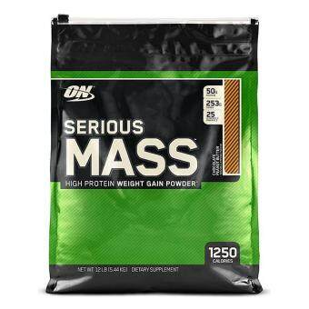Harga Optimum Nutrition Serious Mass, Chocolate Peanut Butter, 12lbs