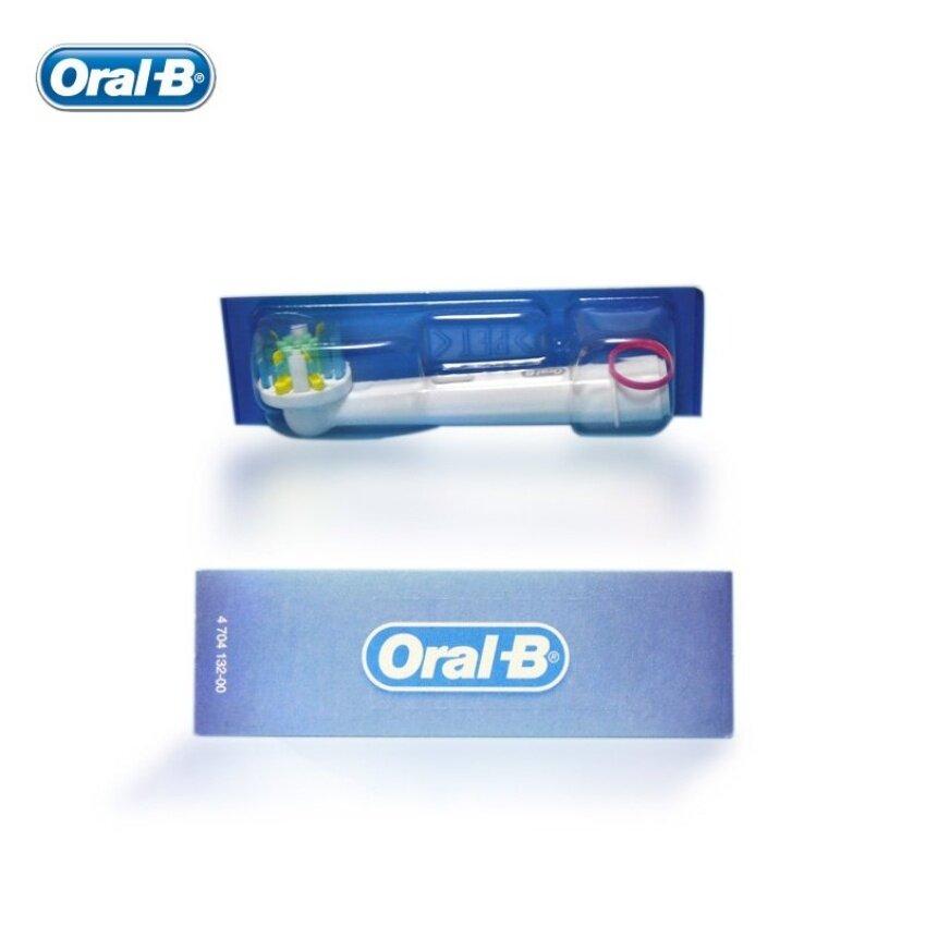 Oral B 3D Putih Sikat Gigi Elektrik Kepala Perawatan Gusi Asli EB18-