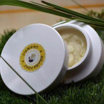 Organic Unrefined Shea Butter - 100g Ivory white, Pure, Raw, no additives - Sigmund Shea Butter
