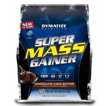 Harga [ORIGINAL] DYMATIZE SUPER MASS GAINER 12 LBS - Muscle Protein Otot Susu Protin Gym Body Building