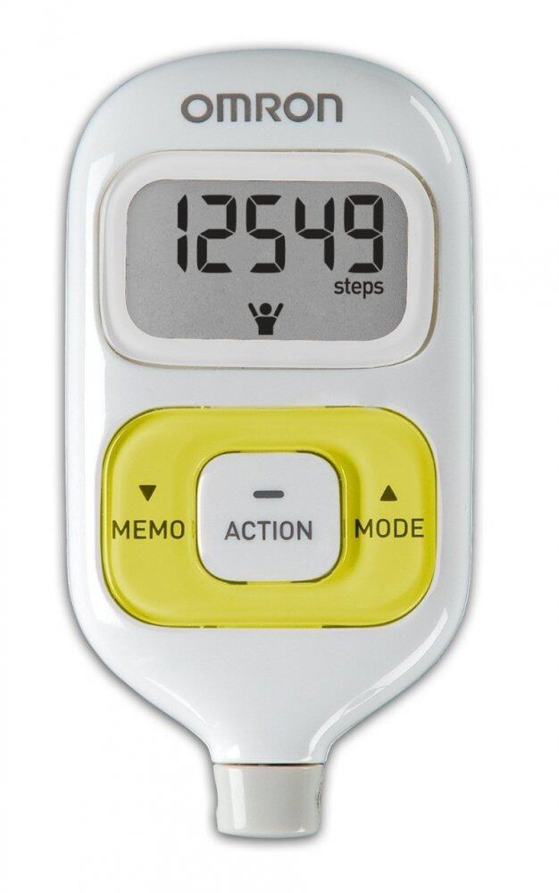 (Original) Omron HJ-203 Pedometer (Warranty 1 Year) Green