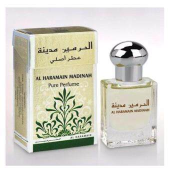 Harga Perfume Al Haramain Madinah - Non Alcohol Roll On Bottle 15ML Attar