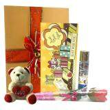 Perfume Gift Set Sunflower Perfume & Rose & I Love You Bear