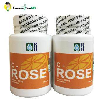 PH C-Rose Vitamin C 500mg with Rose Hips 100s - 2 bottles (Exp 09/2019)
