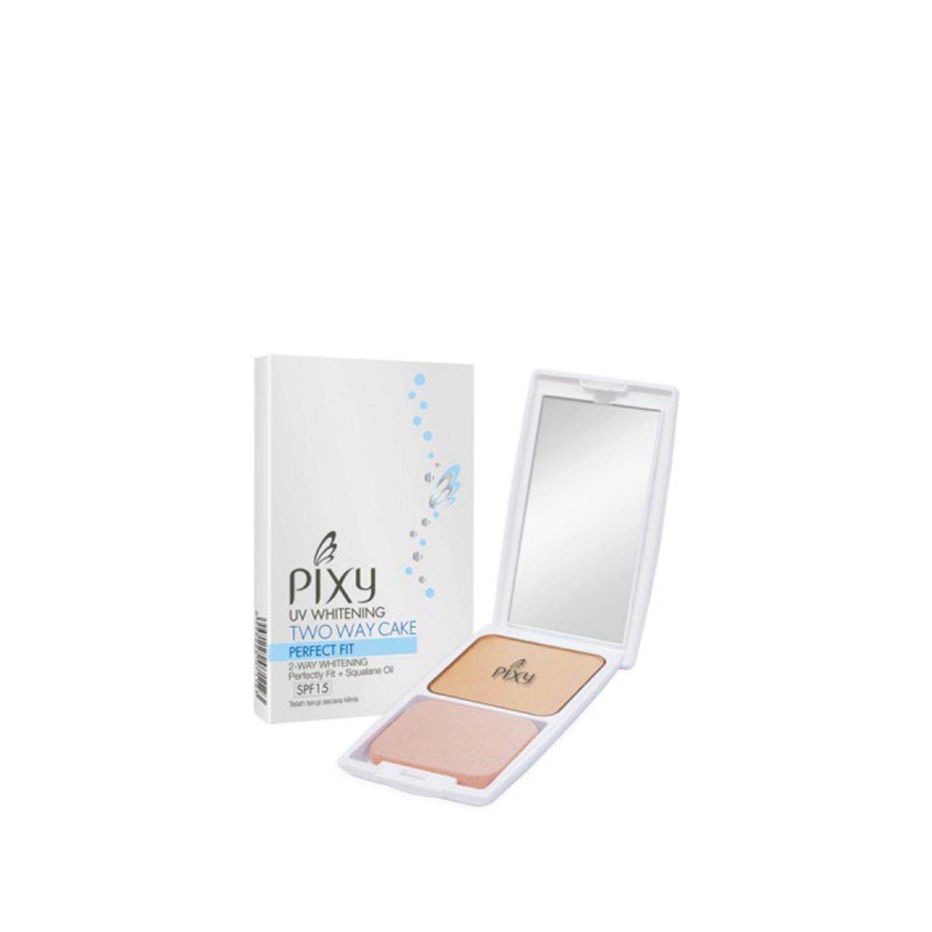 Pixy Uv Whitening Two Way Cake Perfect Fit Refill Tropical Beige - Daftar Update Harga Terbaru