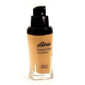 Harga POPFEEL MakeUp Perfection Foundation Full Coverage Flawless MatteFinish FF04