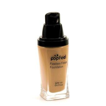 Harga POPFEEL MakeUp Perfection Foundation Full Coverage Flawless MatteFinish FF06