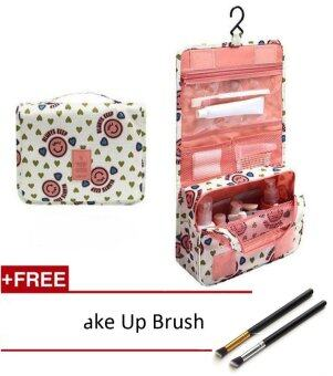 Harga Portable Make up Makeup Cosmetic Bag Organizer HangingToiletryWashing bag Storage For Bathroom Showe Travel Kit Handbag