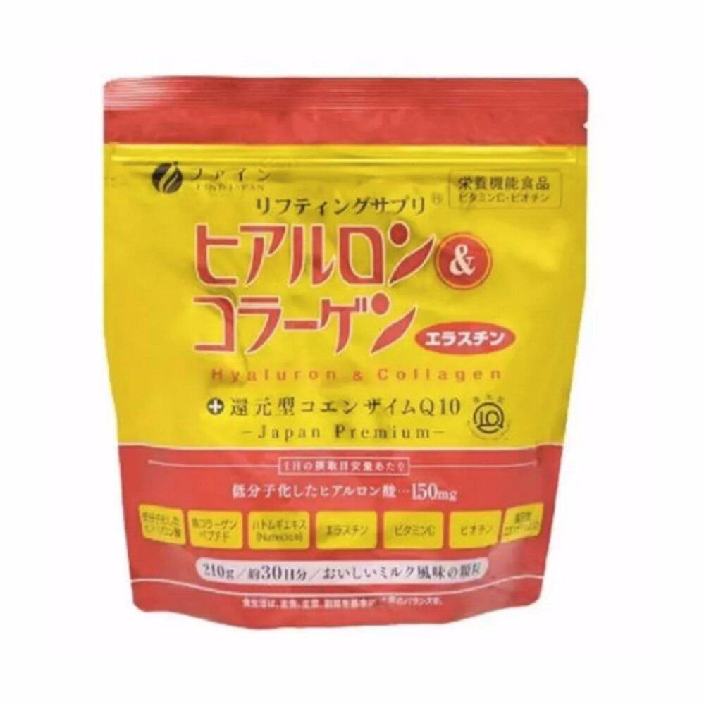 Premium Fine Hyaluron & Collagen + Ubiquinol Q10 (refill pack) 210g