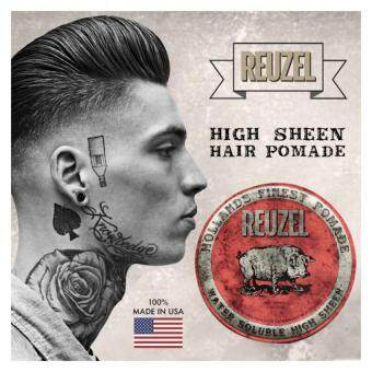 Harga Reuzel Red Water Soluble High Sheen Hollands Finest Hair Pomade(113g)