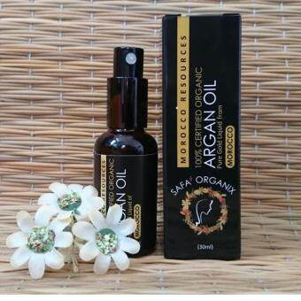 Safa' Organix 100% Pure Organic Argan Oil Made in Morocco ( 30ml ) |Comes with Free Gift (Random Souvenir of Morocco)