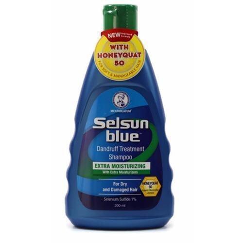 SELSUN BLUE EXTRA MOISTURIZING SHAMPOO 200ML (Twin Pack)