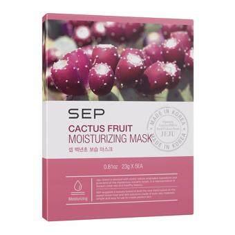 SEP Cactus Fruit Moisturizing Mask 5's