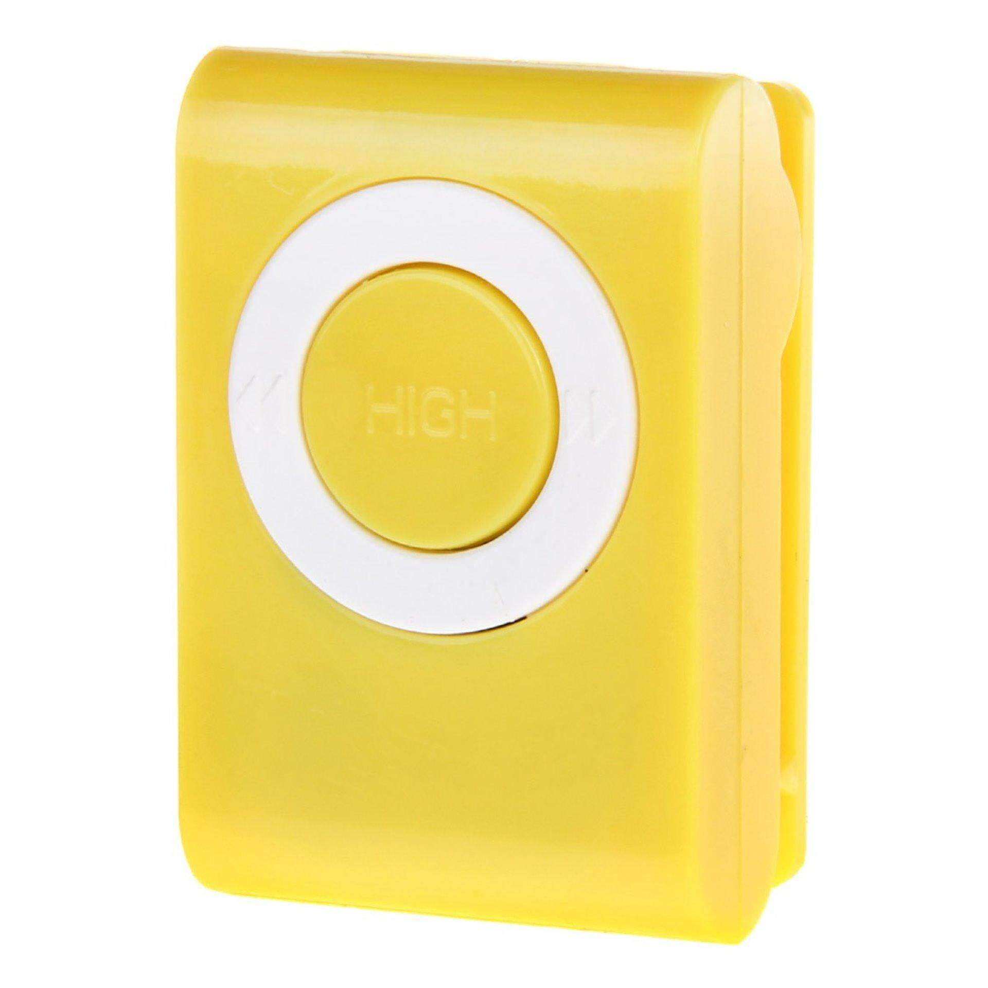 Sex Masturbator 20 Speed MP3 Shape Mini Bullet Wireless Remote Control Vibrator Egg - YELLOW