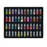 SHANY 3D Nail Art Decoration Mini Bottles with Nail Art Art Tweezer