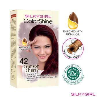 SILKYGIRL ColorShine Hair Color 42 Crimson Cherry (Red)
